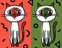 We love siamese cats