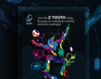 Zain youth | Ad