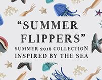 """""""DA+PP"""" SUMMER FLIPPERS"""