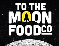 To The Moon Food Co - Logo - Concept Work
