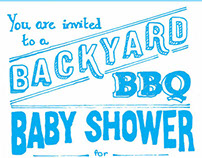 Backyard BBQ Baby Shower
