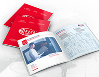 Brochure and leaflet for company