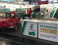 PETRONAS Lubricants Stands