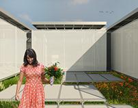 Residência Pré-fabricada - Projeto Arquitetônico VII