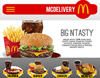 Proposed McDelivery (Philippines) Mobile App Design