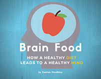 Brain Food: How a Healthy Diet Leads to a Healthy Mind