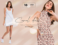 FREE | Casual Dress Mockup Demo