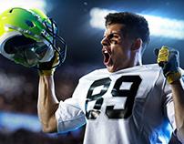 Football portrait