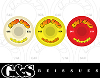 G&S Skateboard Wheels