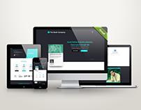 Landing Page Design (web ui)