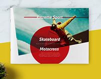 Extreme Sport Landscape Brochure