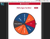 "PDI ""Spin To Win"" Webapp - AngularJS, Ionic, UI/UX"
