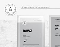 Rawz - Minimal Portfolio