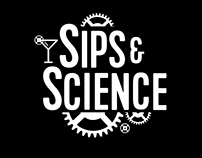 Sips & Science- Logo & Branding