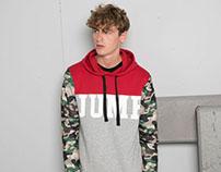 JUMP sweatshirt / Bershka Man