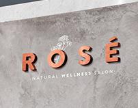 Rosé Natural Wellness ~ Branding