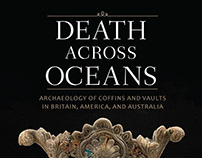 Death Across Oceans Book Cover Print Design