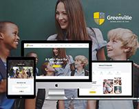 Greenville | Private School WordPress Theme
