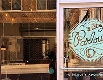 The Hair Parlour Branding