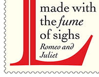 Royal Mail commemorative Shakespeare stamp proposal