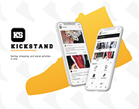 Kickstand App Design