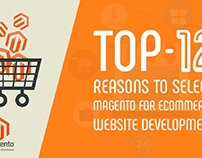 TOP 12 REASONS TO CHOOSE MAGENTO FOR ECOMMERCE WEB DEVE