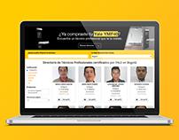 Directorio de Técnicos Profesionales de YALE Colombia