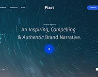 Concept Design For Creative Agency Website