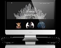 Luxury Diamonds Web Design