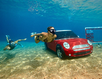 Mini Copper Underwater Ad