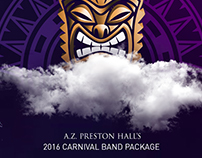 A.Z. Preston Hall 2016 Carnival Band Package