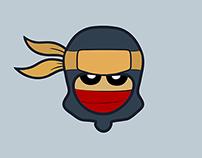 Ninja Spring Jump - Game App Element Design