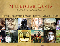 Mellissae Lucia - Website Design & Branding