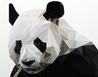 Poly Great panda