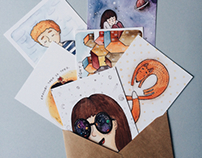 New postcards with my illustration