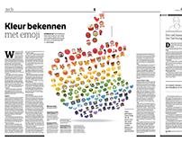 Kleur bekennen met emoji | NRC
