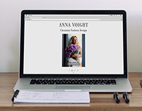 Creating website for fashion designer
