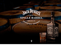Jack Daniel's one page website