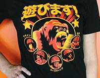 Play Gorilla Shirt Design