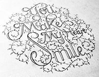 Calligraphy (You Make My Heart Smile)