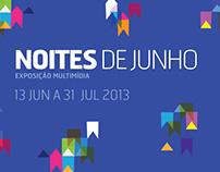 Noites de Junho - Instalações Interativas Multimídia