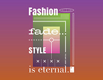 Fashion Fade. Style is eternal