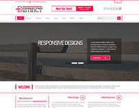 Distinct - Responsive Business Joomla Template