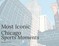 Most Iconic Chicago Sports Moments