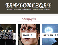 "Web Design - ""Burtonesque"""