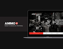 Ammo NYC | Site Redesign