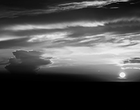 Experimenting with sunsets in B&W...