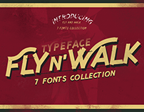 Fly and Walk Typeface