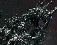 Porous Asteroid
