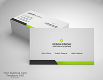 Free Business Card Design Templates - PSD